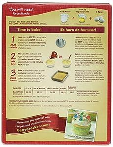 Betty Crocker Baking Mix Super Moist Cake Mix Lemon 1525 Oz Box by General Mills