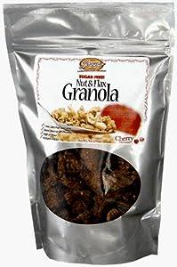 Cinnamon Sugar-free Nut And Flax Granola 9 Oz Bag By Sensato Foods by Sensato Foods