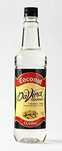 Da Vinci Classic Coconut Syrup 25oz Plastic Bottle from Davinci Gourmet