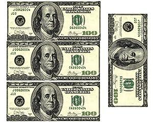 Edible 100 Dollar Bills Frosting Sheet Real Looking Edible Money