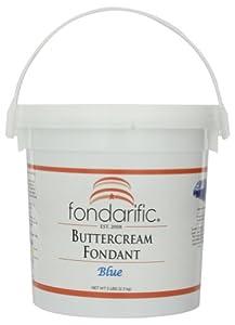 Fondarific Buttercream Blue Fondant 5-pounds by Fondarific