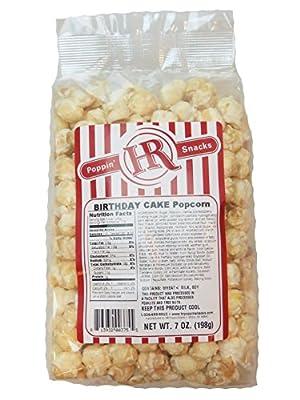 Hr Poppin Snacks Birthday Cake Popcorn