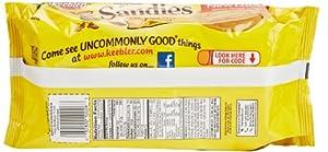 Keebler Sandiescookies Pecan Shortbread 113oz Tray by Kellogg Company