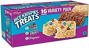 Kelloggs Rice Krispies Treats Snack Bars Variety Pack 16 Count Box by Kellogg Company