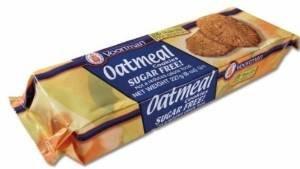 Voortman Sugar Free Cookies Oatmeal 8 Oz